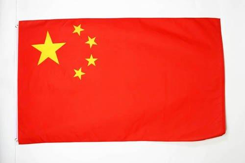 AZ FLAG Drapeau Chine 150x90cm - Drapeau Chinois 90 x 150 cm - Drapeaux