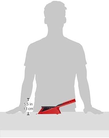 Spazzola con Due Tipi di Fibre Vileda 2 in 1 Paletta con Scopino 25 x 35 x 14.1 cm Aderente al Pavimento per Polvere