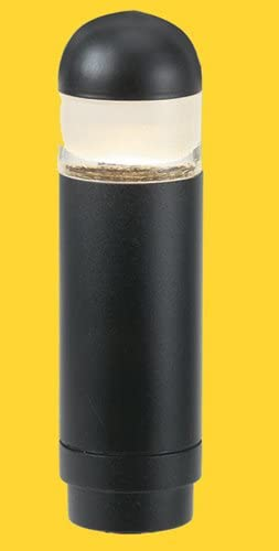 Corona CL-620-BK -Low Voltage 12V Area Light Aluminum Mini Bollard, Black