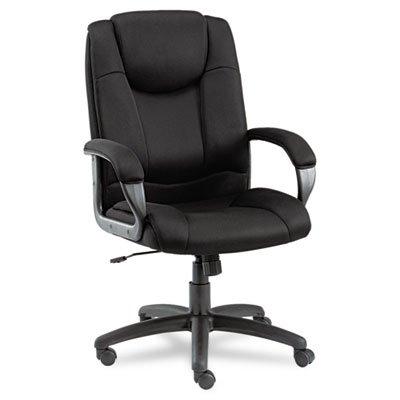 - Alera ALELG41ME10B Logan Series Mesh High-Back Swivel/Tilt Chair, Black