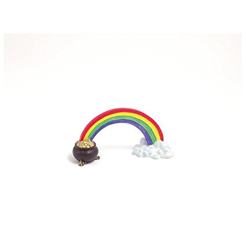 Rosewood Blue Ribbon Rainbow Pot Of Gold Ornament (One Size) (Multicolored) ()