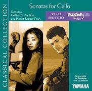 Sonatas for Cello - (for CD-compatible modules) - Cecilia Tsan - PianoSoft -