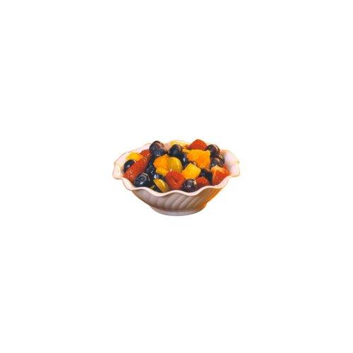 Gessner 0346 BONE White SAN Plastic 5 Oz. Berry Dish - 24 / CS