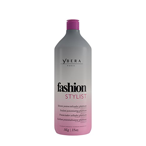 Keratin Ybera Fashion Stylist Platinum Smooth and Extreme Shining Hair Enhanced with Omega 3, 6 and 9 by Ybera Professional