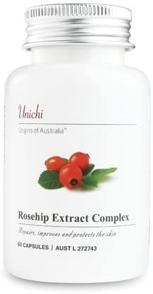 unichi Rosehip Extract Charlotte Mall Complex Design Special price for a limited time 60 Capsules of Australia