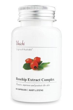 unichi Rosehip Extract Complex design of Australia 60 capsules