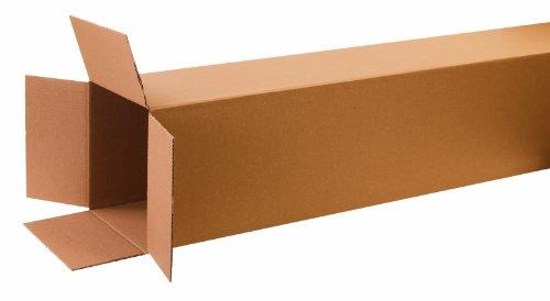 Aviditi 121272 Tall Corrugated Box, 12'' Length x 12'' Width x 72'' Height, Kraft (Bundle of 10) by Aviditi