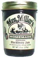 Seedless Blackberry Jam No Added Sugar: 3 jars - Sugar Free Blackberry Jam