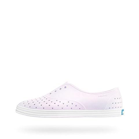 Native Shoes Women's Jericho Milk Pink/Shell White/Galaxy Sneaker (Size 8 Native Shoes)