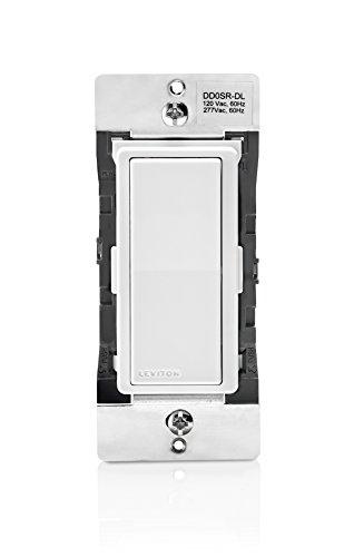 - Leviton DD0SR-DLZ Dual Voltage 120/277VAC Decora Digital/Decora Smart Matching Switch Remote