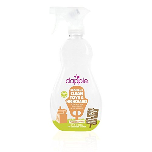 Dapple Natural Toy & Highchair Spray - Fragrance Free - 16.9 (Dapple Natural)