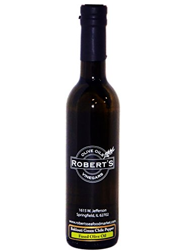Robert's Extra Virgin Fused Olive Oil - Baklouti Green Chile Pepper (hot) (750ml) ()