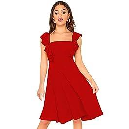 Buy ILLI LONDON Women's A-Line Knee Length Dress India 2021
