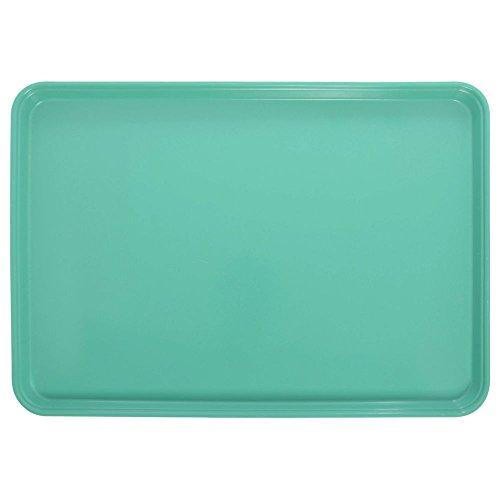 Cambro Green Fiberglass Market Display Tray - 26