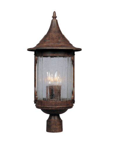 Designers Fountain 20936-CHN Canyon Lake Post Lanterns, Chestnut by Designers Fountain [並行輸入品] B018A3604I
