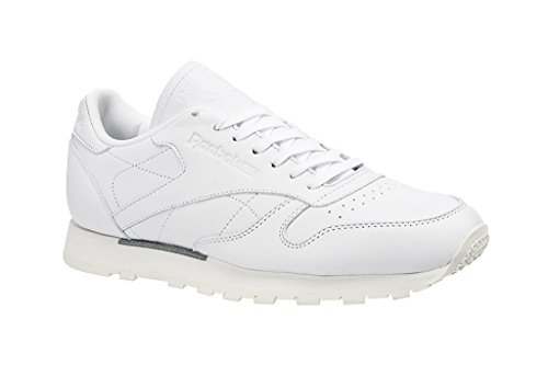Reebok Men CL Leather OMN, WHITE/CLASSIC WHITE WHITE/CLASSIC WHITE