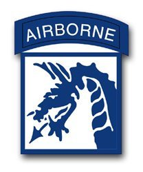 Airborne Sticker (United States Army 18th US Army Airborne Corps Patch Decal Sticker 3.8