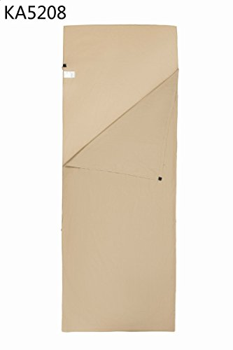 Envelope Sleeping Bag Liner Cotton Soft Touching Compact Travel Camping by Sleeping Bag
