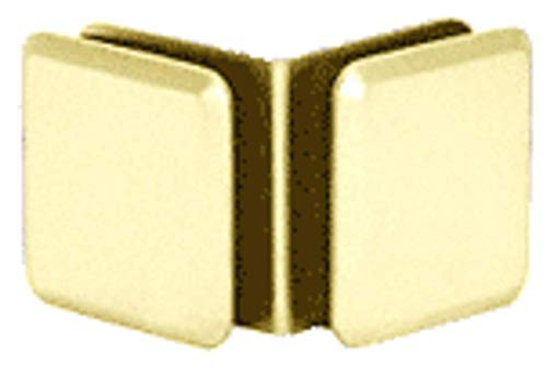 (CRL Brass Estate Series 90 Degree Glass-to-Glass Clamp)