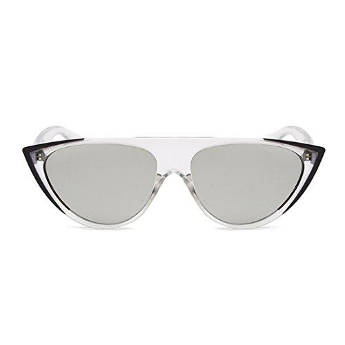 calle de tendencia sol sol gafas gafas moda mujer moda Mercurio gato Aiweijia de Negro ojos personalidad qR8Cw7