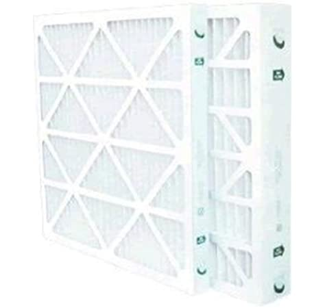 Case of 12 Made in the USA 20x25x1 Merv 8 Pleated AC Furnace Filters