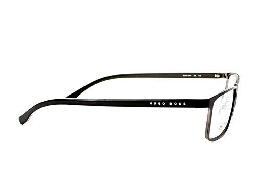 Noir Montures Hugo lunettes de Boss X Homme Large noir XxZwxzO