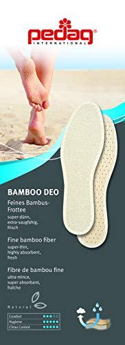 Beige Semelle Pedag Pieds Deo Nus Bambou Intérieure xYYgqnP