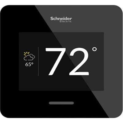 APC WISERAIR10BLKUS Wiser Air Smart Wi-Fi Thermostat (Black) by Visipax