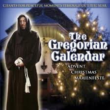 Gregorian Calendar: Passion Easter - Gregorian Collection