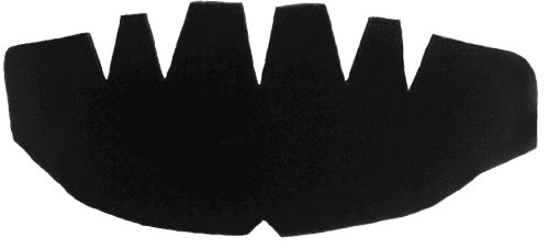 f2a2387a720 1 Pack. Black-One Size Fits All Baseball Cap Dome Panel Shaper and ...