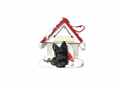 Scottie Ornament A Great Gift For Scottie Owners Hand Painted and Easily Personalized