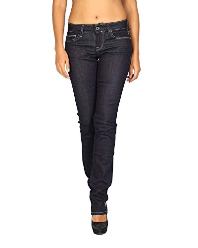 MELTIN'POT - Women's Jeans Melia - Regular Fit - Blue, W34 / L32