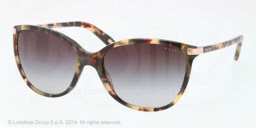 Ralph Women's RA5160 Sunglasses Vintage Tort / Smoke Gradient - Ralph 135 Lauren Sunglasses