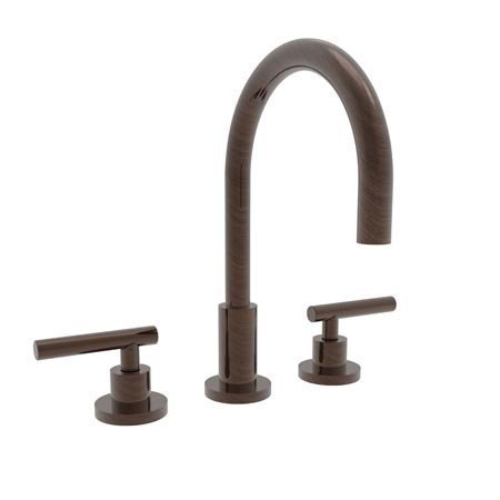 [Newport Brass 990L East Linear Double Handle Widespread Lavatory Faucet with Met, Venetian Bronze] (Bronze 990 Double Handle)