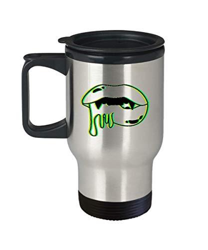 Vampire Mouth Travel Mug Gift | Trippy Halloween