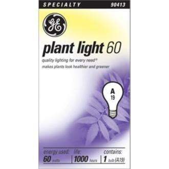 GE Lighting 41624 60 Watt Blue Plant Light Bulb