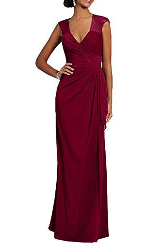 Missdressy - Vestido - Estuche - para mujer borgoña
