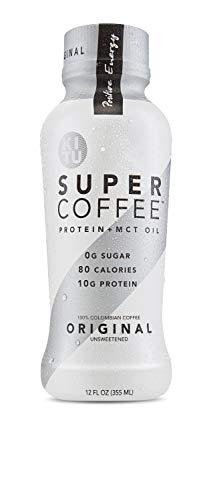 Kitu by Sunniva Super Coffee Original Sugar-Free Formula, 10g Protein, Lactose Free, Soy Free, Gluten Free, Case of 12 -