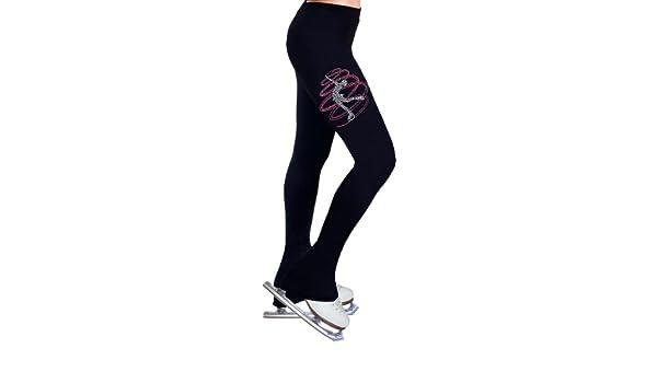 Figure Skating Practice Pants with Rhinestones R233MIX