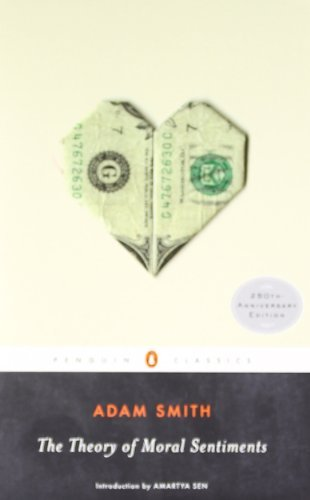 By Adam Smith - The Theory of Moral Sentiments (Penguin Classics) (Anv) (12/27/09)