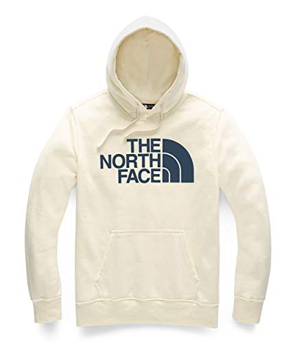 - The North Face Men's Half Dome Pullover Hoodie Vintage White/Blue Wing Teal Large