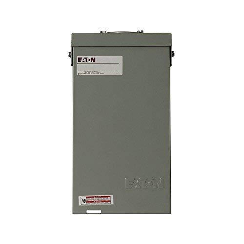 Eaton CH50SPAST Powder-Coated Galvanized Steel 1-Phase 2-Pole Spa Panel 50 Amp (50 Amp Spa Panel)