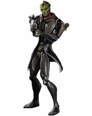 Big Fish Toys Mass Effect 3: Series 1: Thane Action Figure