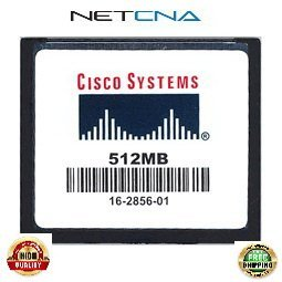 - MEM-CF-512MB 512MB Cisco 1900, 2900, 3900 Routers ISR Approved Original Compact Flash Memory 100% Compatible memory by NETCNA USA