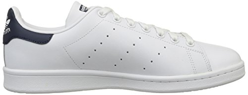 Stan Originals Running Zapatillas de Smith adidas Adulto New Blanco Navy Deporte Unisex White Tw5OqOd1