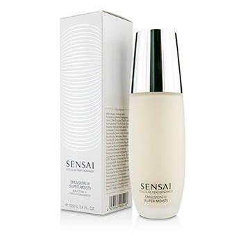 Kanebo Sensai Cellular Performance Emulsion III, Super Moist, New Packaging, 3.4 (Kanebo Sensai Cellular Performance Emulsion)