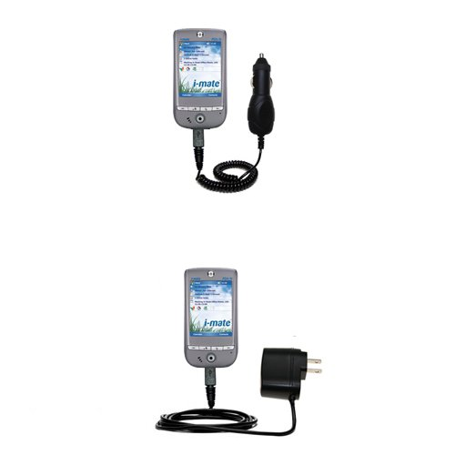 Essential Gomadic AC /DC Charge Accessory Bundle for the i-Mate PDA-N Pocket PC. Kit includes the Gomadic Home and Car Chargers at a Money Saving Price. Based on TipExchange Technology