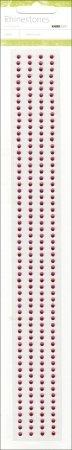 Strip Kaisercraft Rhinestone (Kaisercraft RS454 Self-Adhesive 3mm Rhinestone Strips 12 4/Pkg-Hot Pink)