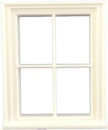 Melody Jane Dolls House Ecru Gathered Panel Curtains Miniature Window Accessory