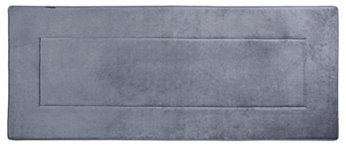 Fabbrica Home Ultra-Soft HD Memory Foam Runner (2 feet by 5 feet) (Slate Gray)